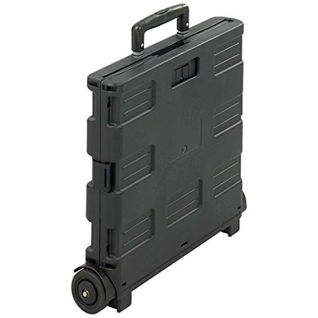 4054BL Stow-Away Crate, Black, Each Crate 39 Go Black Stow 1612 1 as 1412 Sold And x 4054BL StowAway Cart By Safco Products
