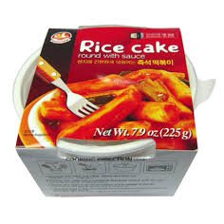 Korean Instant Ddukbokki Samhak Rice Cake Round With Sauce 7 9 Oz  One