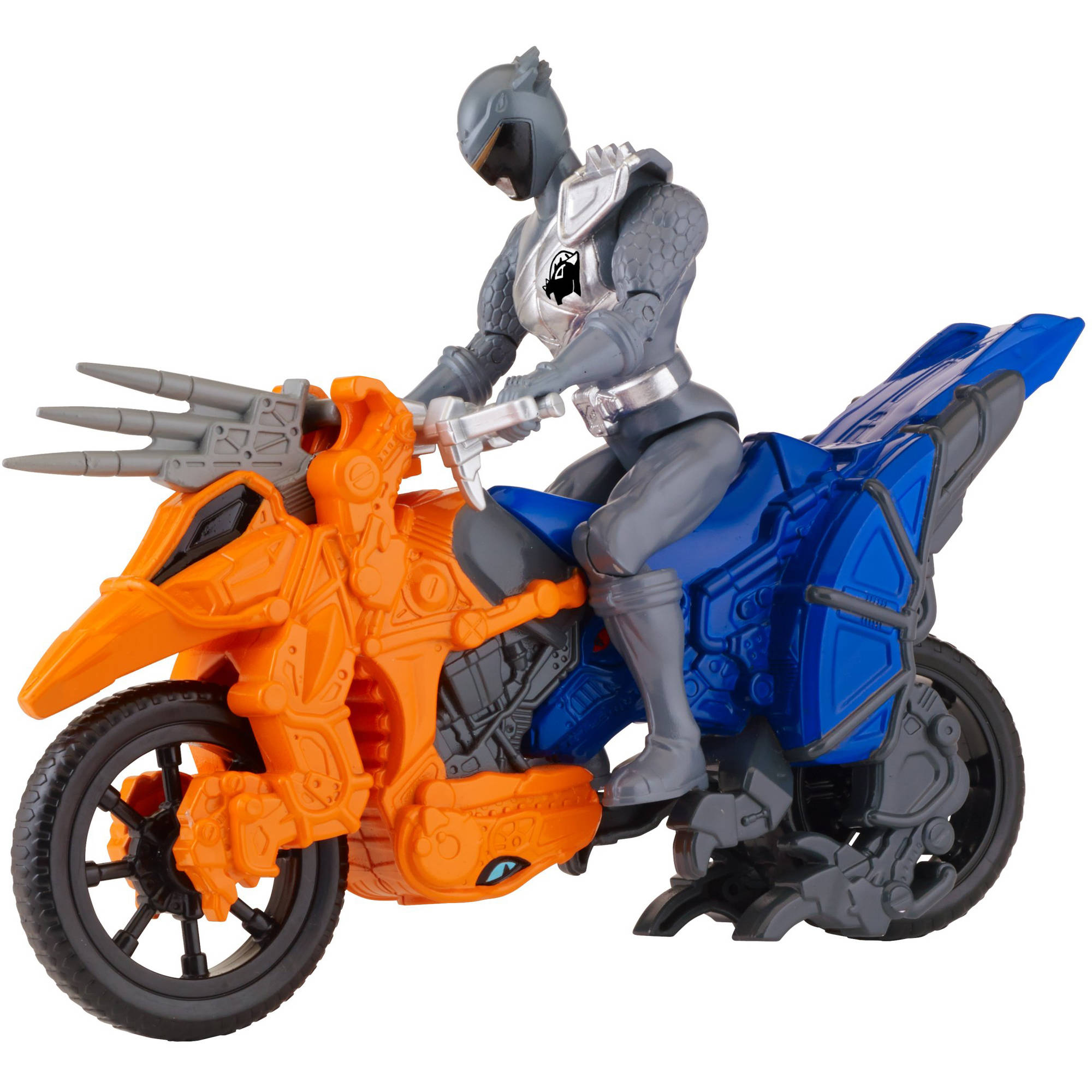 Power Rangers Dino Super Charge Dino Cycle and Graphite Ranger