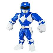 Playskool Heroes Mega Mighties Power Rangers Blue Ranger, 10 Inch Action Figure