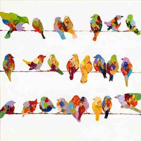 Yosemite Home Decor Birds on a Wire II Wall Art - Walmart.com