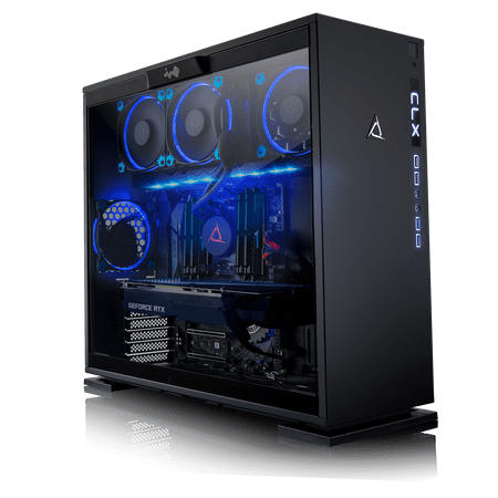 CLX Set GAMING PC AMD Ryzen Threadripper 2950X 3.5GHz (16 Cores) 32GB DDR4 6TB HDD & 960GB SSD NVIDIA RTX 2070 8GB GDDR6 MS Windows 10