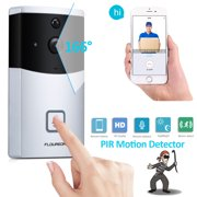 Home Door Ring WiFi Wireless Visual Camera,Night Vision Camera Doorbell Smart Doorbell Security Monitor