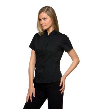 Bargear Ladies Short Sleeved Mandarin Collar Bar Shirt - image 6 of 6