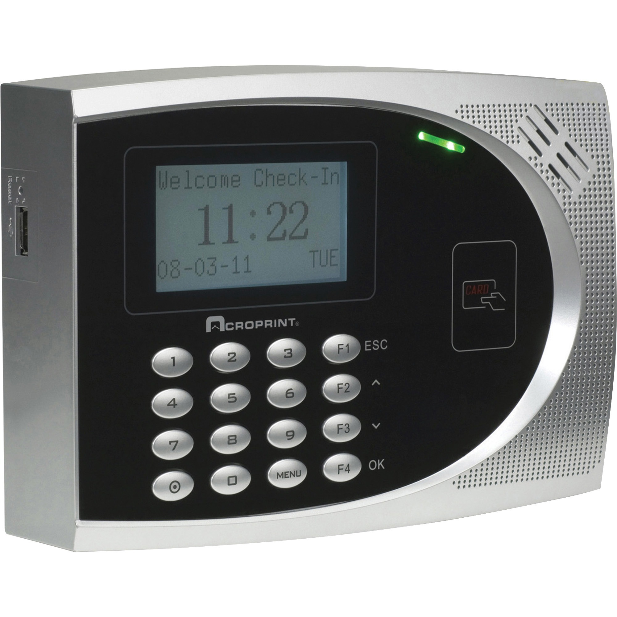 Acroprint, ACP010249000, TimeQPlus Proximity Time & Attend System, 1 Each, Black