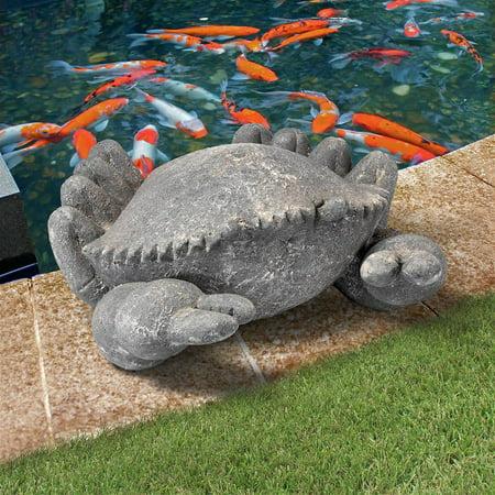 Crab Garden (Design Toscano Cantankerous Stone Crab Garden Statue: Large)