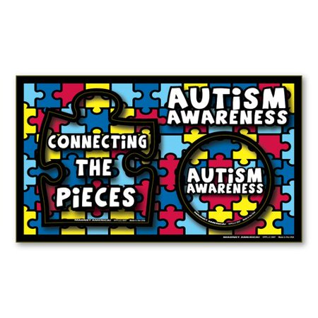 Magnet America Autism Awareness Magnet Picture Frame ()