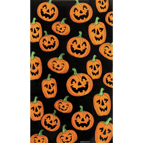 Wal-Mart Pumpkin Cello Bag, 15ct