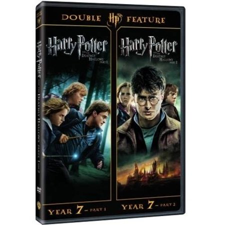 Harry Potter And The Deathly Hollows  Parts 1 And 2  Dvd   Digital Hd   With Instawatch   Walmart Exclusive