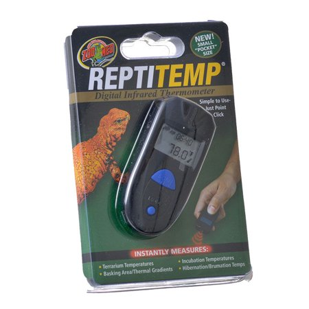 Zoo Med ReptiTemp - Digital Infrared Thermometer Digital Infrared Thermometer - Pack of