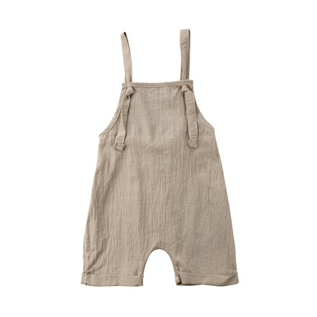 9552bc5661b5 Toddler Baby Boys Girls Bib Short Pants Backless Romper Jumpsuit Outfits  Clothes 0-3Y - Walmart.com