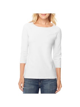 bce2ab60e3 Product Image Women s Stretch Cotton Raglan 3 4-Sleeve Tee
