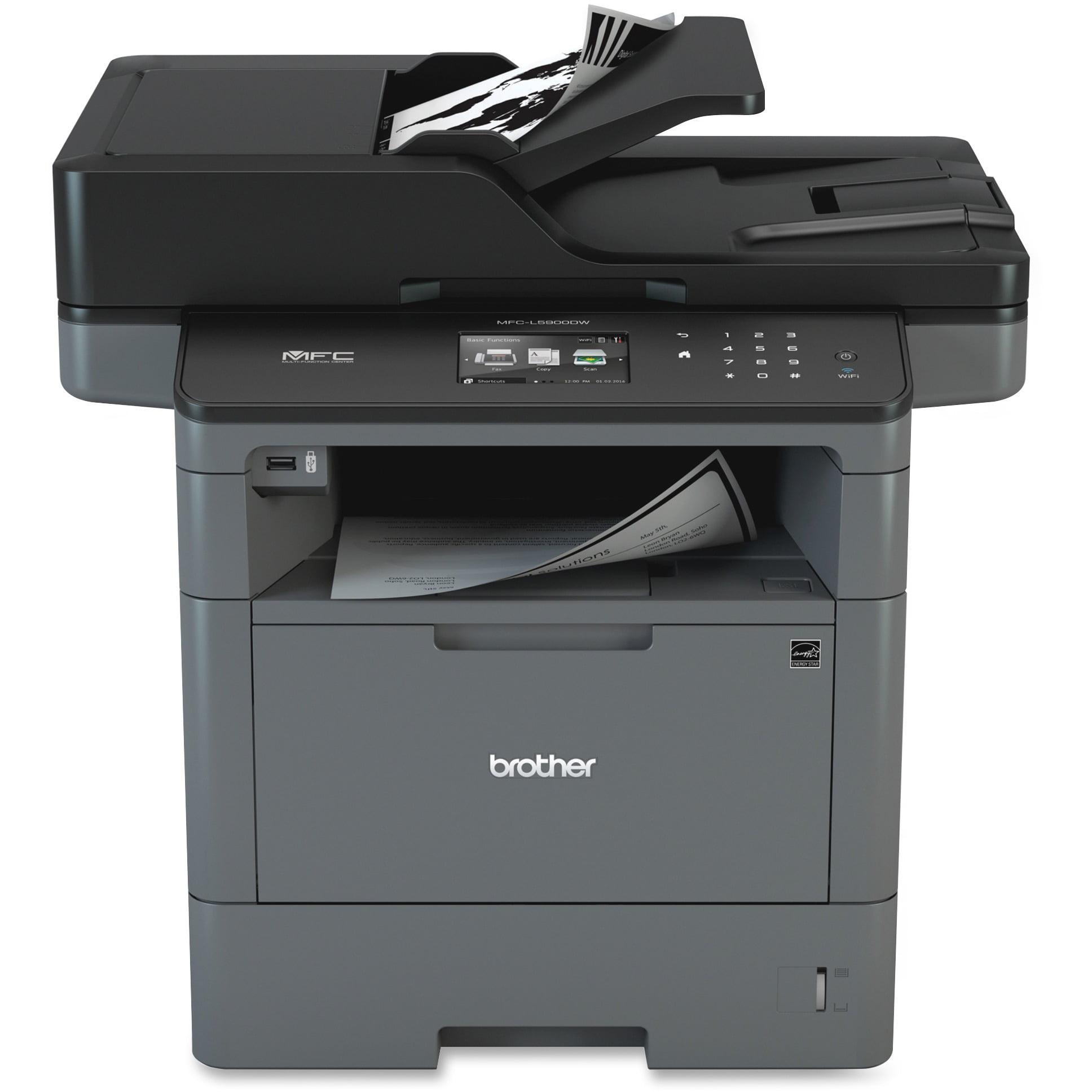 Brother MFC-L5900DW Laser Multifunction Printer - Monochr...