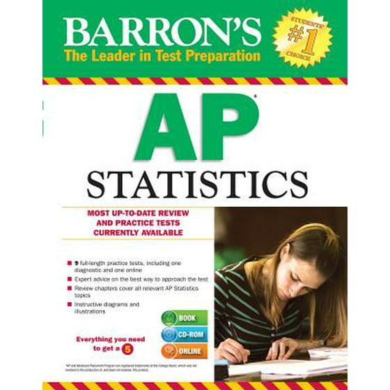 Barron's AP Statistics with CD-ROM - Walmart com