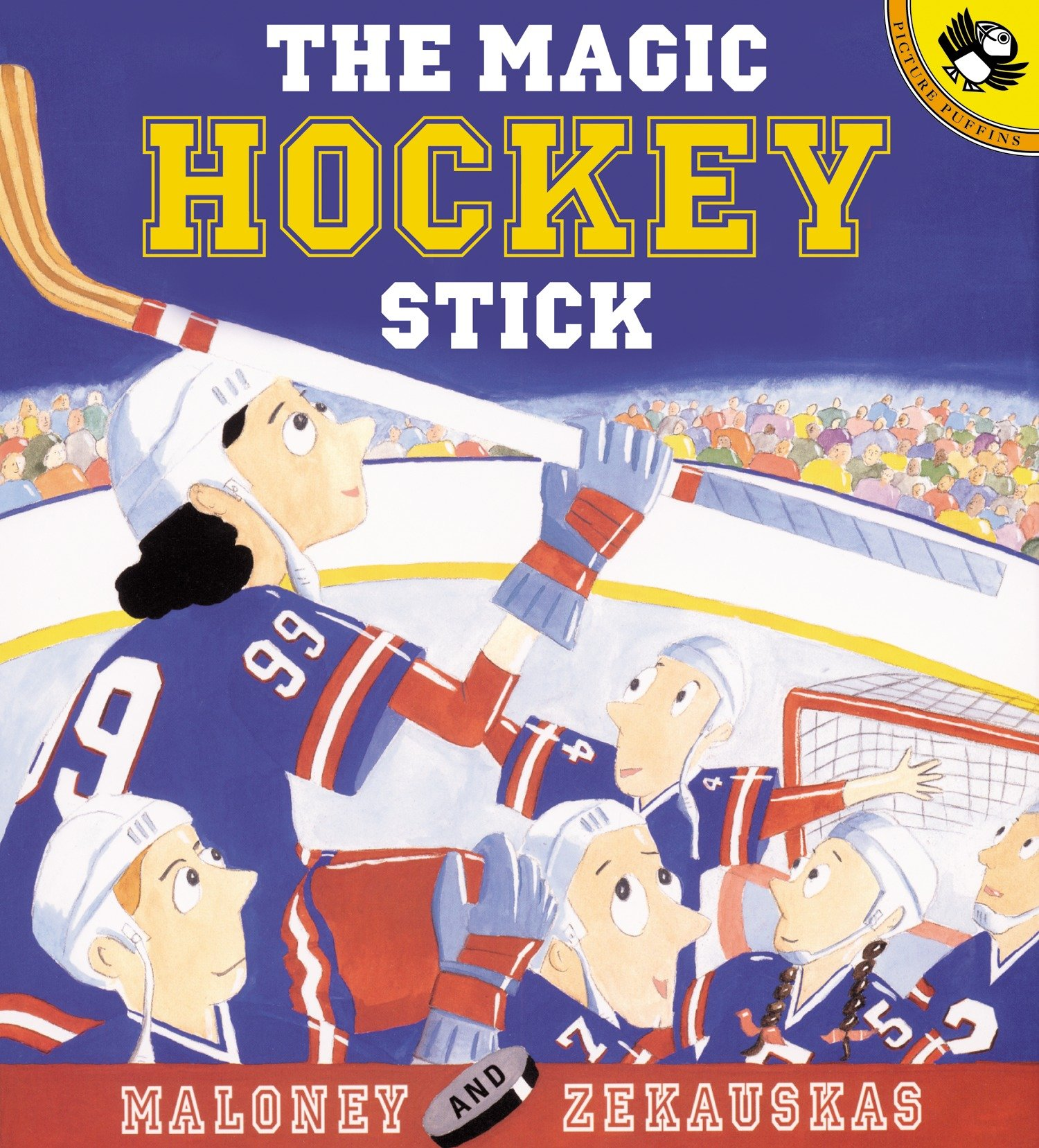 Picture Puffin Books: The Magic Hockey Stick (Paperback)