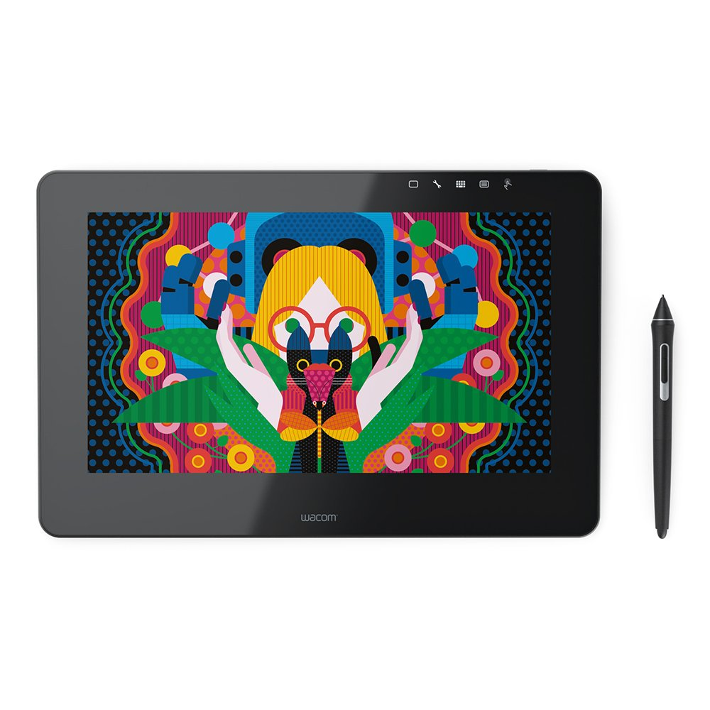 "Wacom Cintiq Pro 13"" Creative Pen & Touch Display DTH1320K0 Black by Wacom"