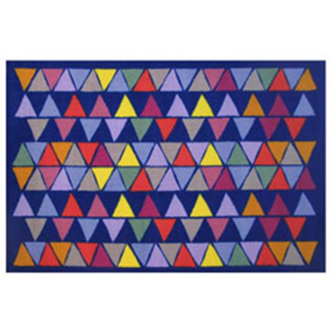 Fun Rugs Pyramid Party Kids Rugs