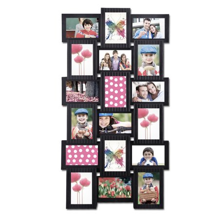 Ademco Home Alarm (Adeco Trading 18 Opening Plastic Photo Collage Wall Hanging Picture)