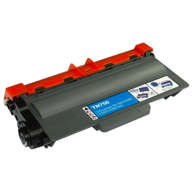 eReplacements TN-720-ER eReplacements Compatible Black Toner for Brother TN720, TN750 - Laser