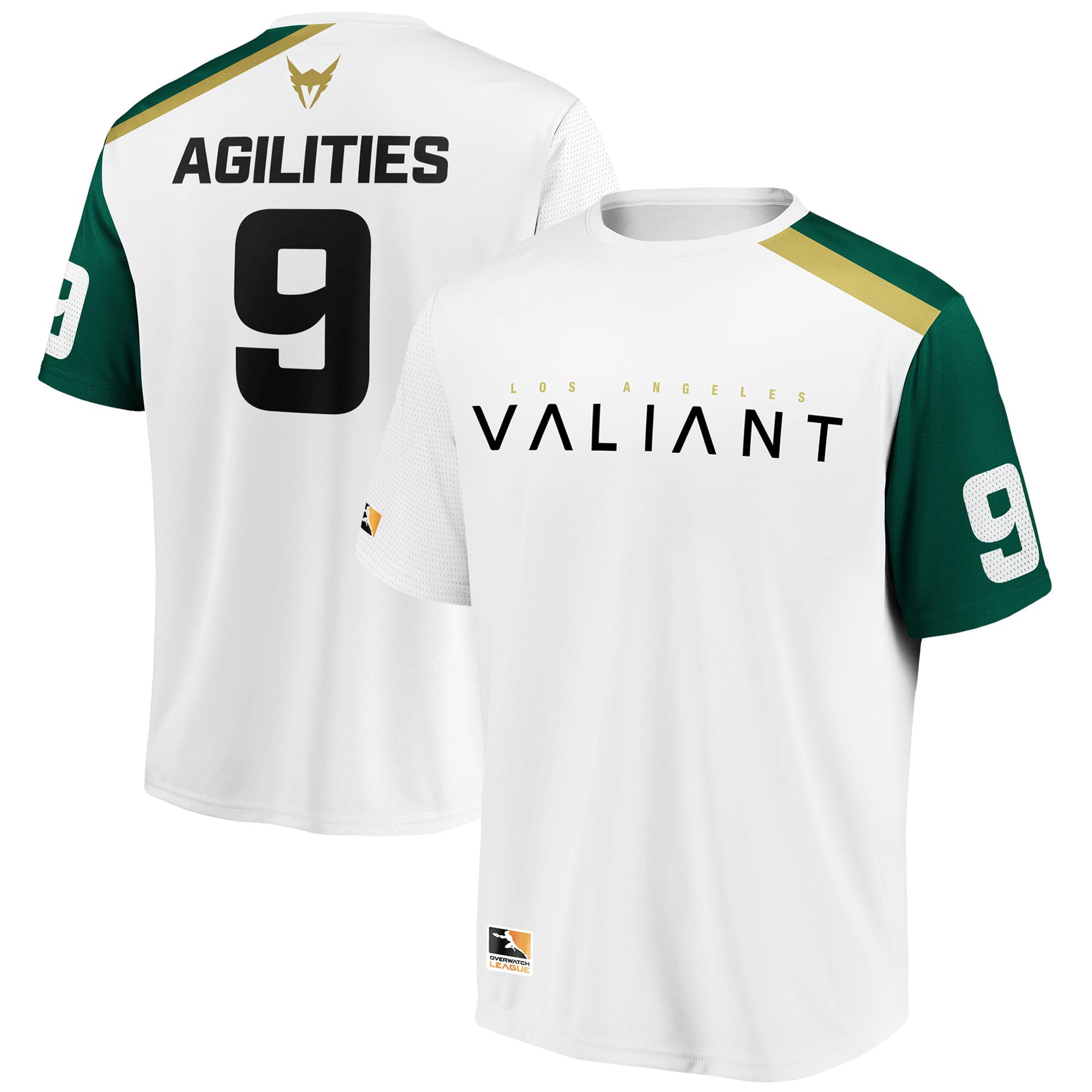 Agilities Los Angeles Valiant Overwatch League Replica Away Jersey - White