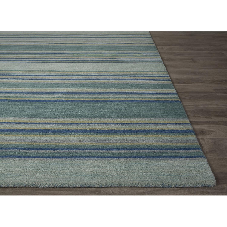 Jaipur Rug118865 Flat Weave Stripe Pattern Wool Area Rug