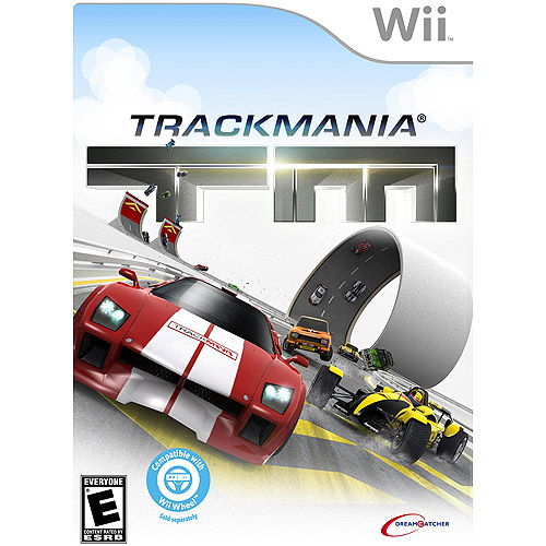 Track Mania: Built To Race (Wii) - Pre-Owned