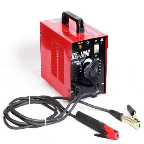 Click here to buy Pitbull Ultra-Portable 100-Amp Electric Arc Welder 110V.