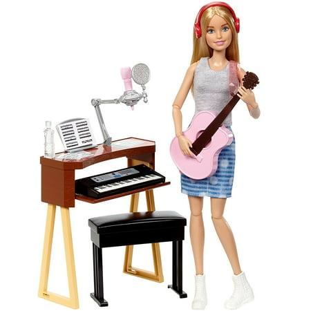 Barbie Careers Musician Doll & Playset, Blond