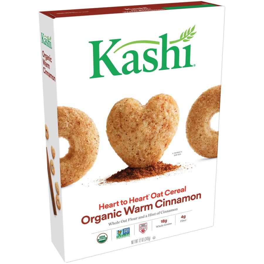 (2 Pack) Kashi Heart To Heart Organic Breakfast Cereal, Warm Cinnamon, 12 Oz