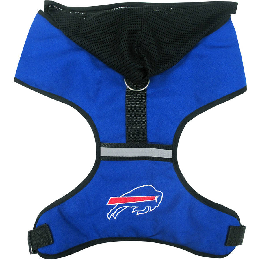 Pets First NFL Buffalo Bils Pet Harness, 3 Sizes Available