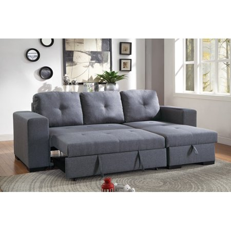 Convertible Sectional Sofa Small Family Living Room