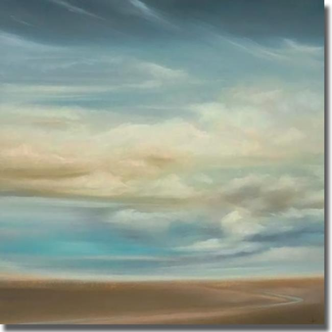 Artistic Home Gallery 3030617S Scape 154 by KC Haxton Premium Stretched Canvas Wall Art - image 1 of 1