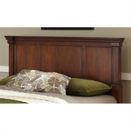 Home Styles The Aspen Collection King/California King Headboard, Rustic Cherry/Black ()