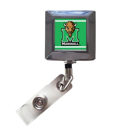 Marshall Thundering Herd 2-Pack Retractable Badge Holder