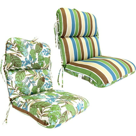 Reversible Deluxe Outdoor Chair Cushion