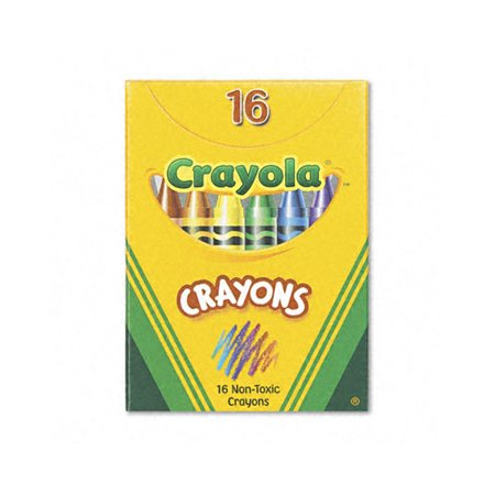 Crayola Classic Color Pack Crayons (Tuck Box, 16 Colors/Box)