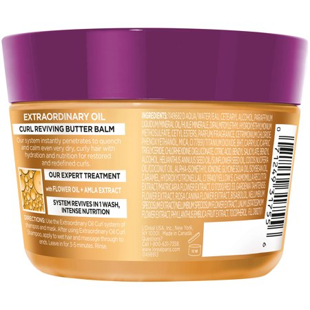 Loreal Textureline Curl Memory - L'Oreal Paris Elvive Extraordinary Oil Curls Re-Nourish Mask 8.5 FL OZ