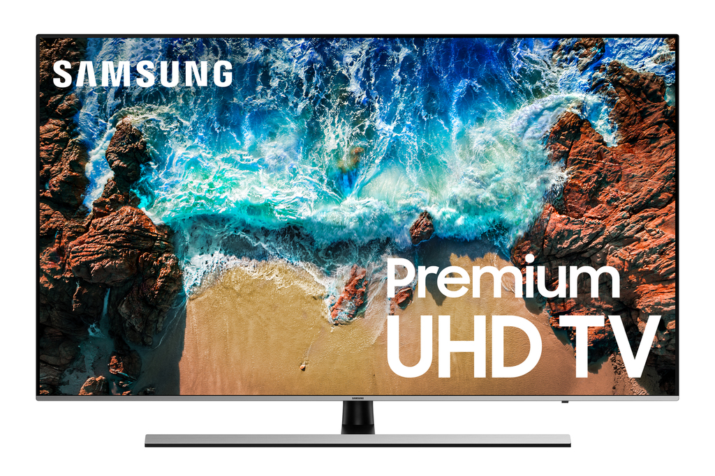 "Click here to buy SAMSUNG 75"" Class 4K (2160P) Ultra HD Smart LED TV UN75NU8000FXZA (2018 model) by Samsung."