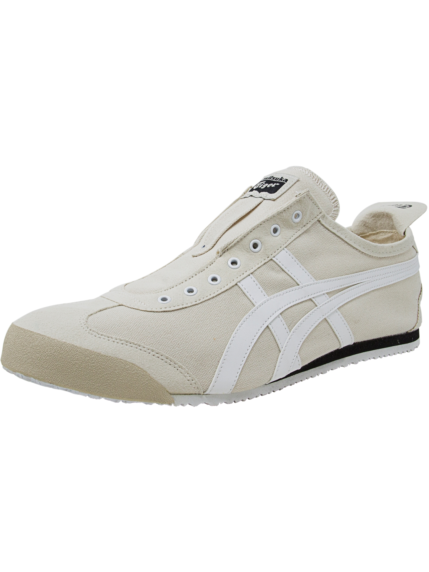 Onitsuka Tiger Men's Mexico 66 Slip-On Birch / White Ankle-High Shoes - 14M