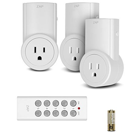 Etekcity Programmable Energy Saving Remote Control Electrical Outlet ...