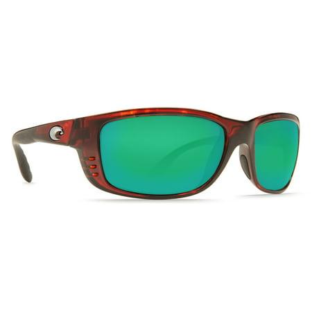 Costa Del Mar Zane Tortoise Rectangular Sunglasses ()
