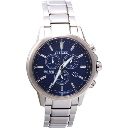 Citizen Men's Eco-Drive Titanium Ti + IP Watch AT2340-56L