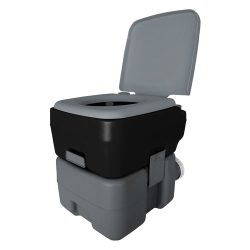 Reliance Portable 2.5 GPF Round One-Piece Toilet by