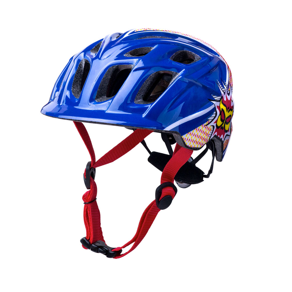 Kali Protectives Chakra Child Helmet Universal Child Pow Blue/Red