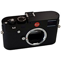 Leica 10770 M 24MP RangeFinder Camera with 3-Inch TFT LCD Screen Body Only (Black) by Leica
