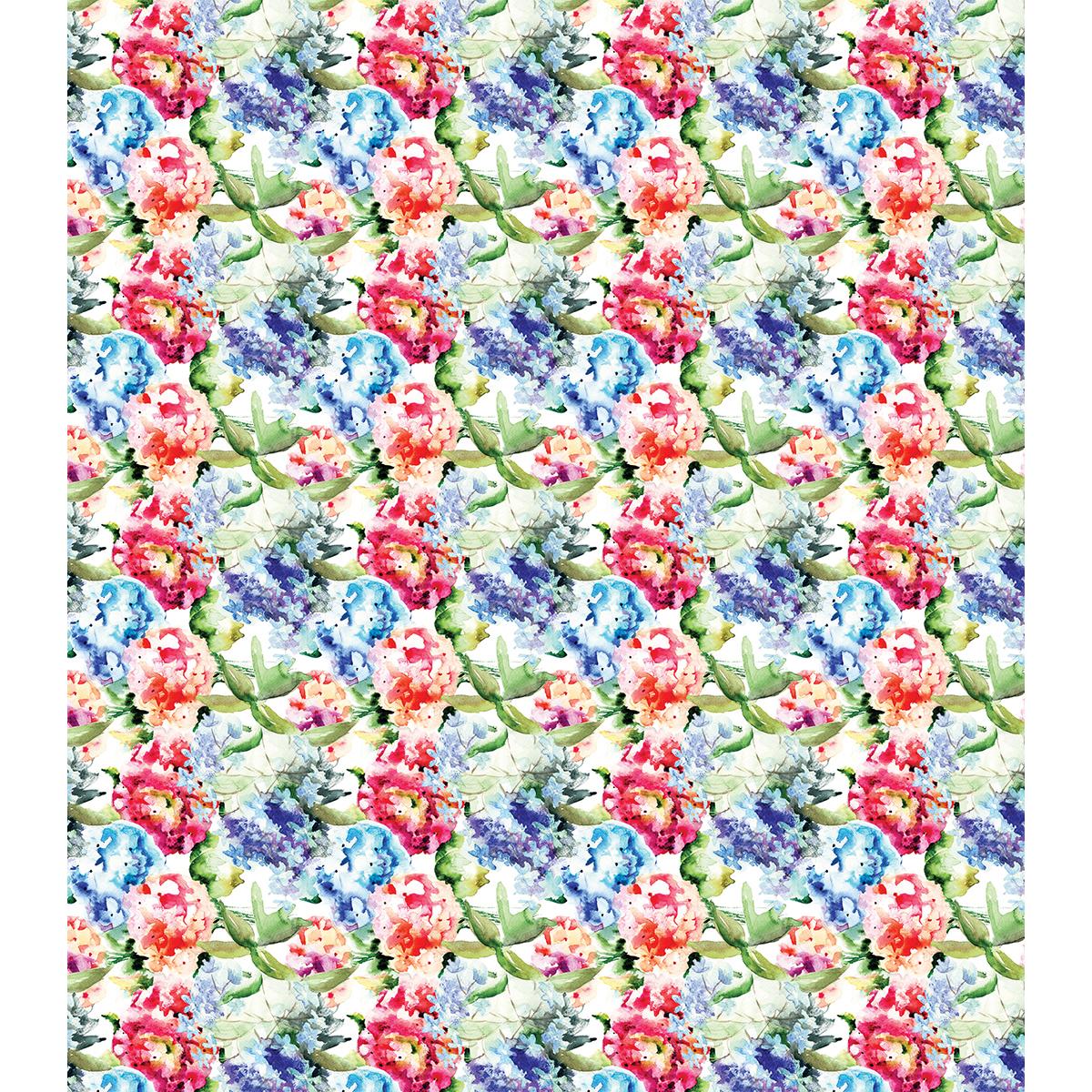 """Craft Consortium Decoupage Papers 13.75""""X15.75"""" 3/Pkg-Watercolour Garden"""
