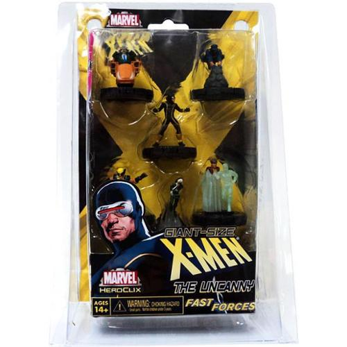 Marvel HeroClix Giant Size X-Men Fast Forces Figure Pack by