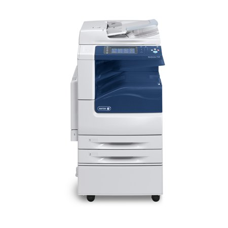 Refurbished Xerox WorkCentre 7120 Color Laser Multifunction Copier - 20ppm, Copy, Print, Scan, Auto Duplex, Network, A3, A4, 2 Trays, Stand