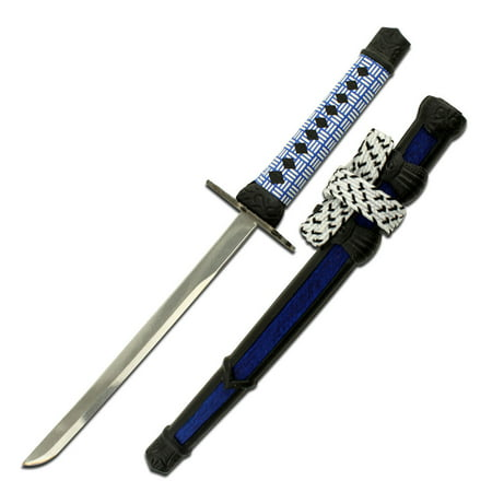 United Sword Display Stand - NEW! Blue Mini Japanese Samurai Sword Letter Opener Gift w/ Display Stand