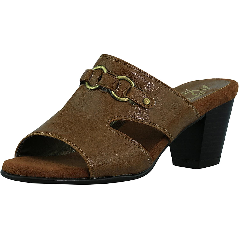 Aerosoles Women's Base Board Faux Leather Tan Sandal 6M by Aerosoles
